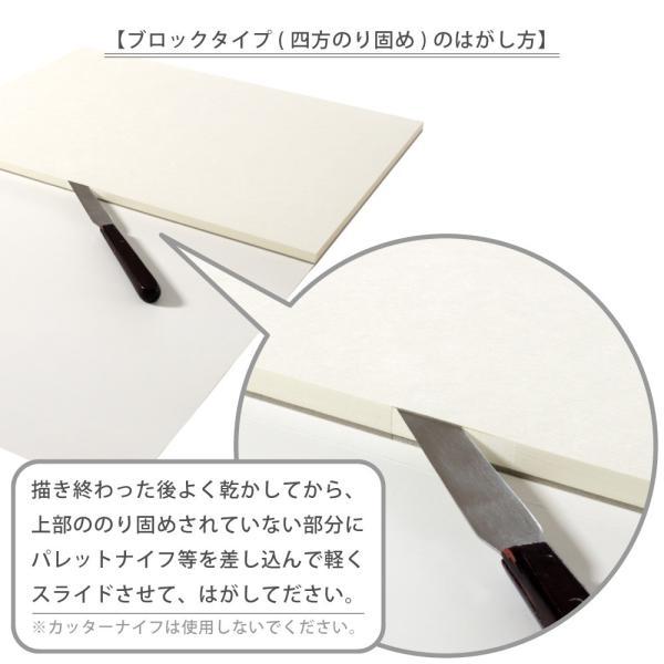 マルマン ブロック ヴィフアール水彩紙 F6 荒目 242g/m2 22枚 B16VA (DM便不可) maruman|artandpaperm|06