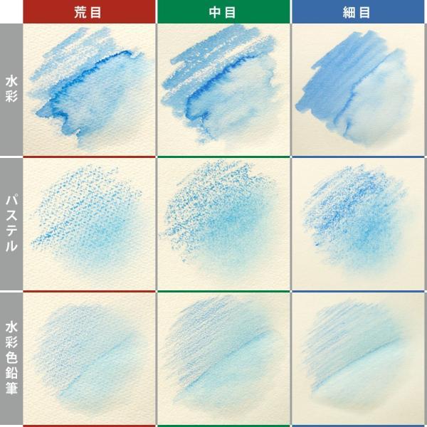 スケッチブック ブロック ヴィフアール水彩紙 F4 細目 242g/m2 22枚 B34VA マルマン (宅配便のみ)|artandpaperm|05