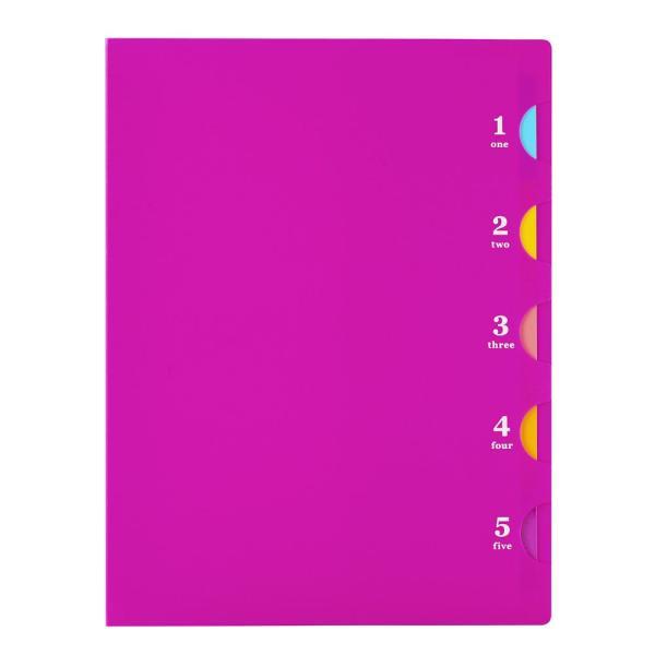 プラスチックバインダー ファイブチャート ライト(B type) B5(26穴)背幅20mm F116 【maruman/マルマン】[DM便不可]|artandpaperm|03
