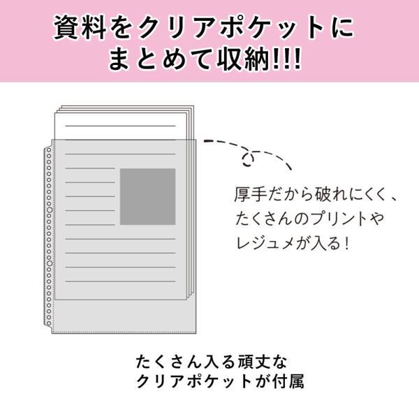 バインダー SESSiON B5 全9色 新学期 学習 ノート整理 復習 F310 マルマン (宅配便のみ)|artandpaperm|04