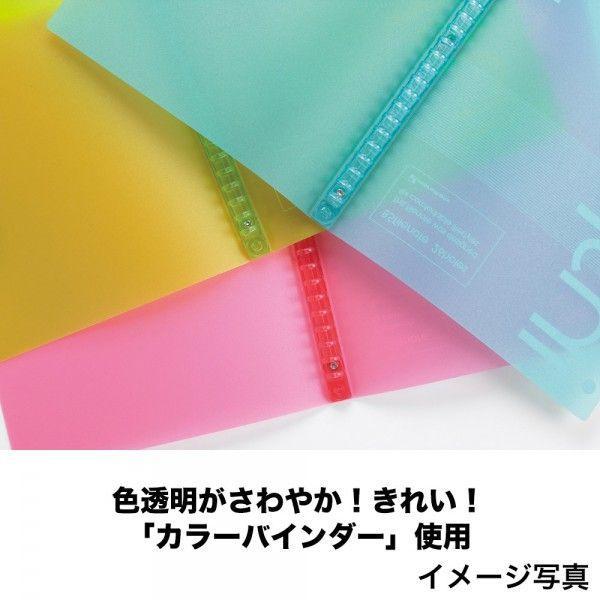 プラスチックバインダー ファイルノート インスピア A4(30穴) 背幅15mm F485 【maruman/マルマン】[DM便不可]|artandpaperm|03
