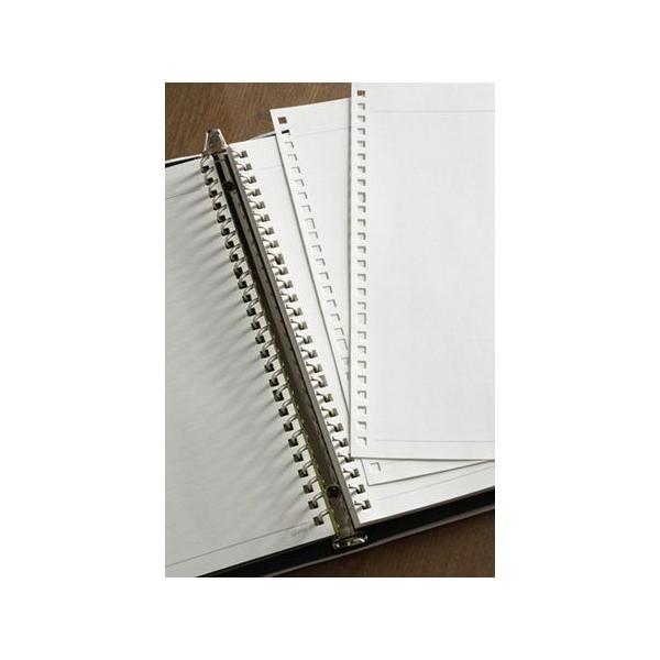 【名入れ無料】メタルバインダー ファイルノート ジウリス A4(30穴) ブラック F988A-05 【maruman/マルマン】[DM便不可]|artandpaperm|04