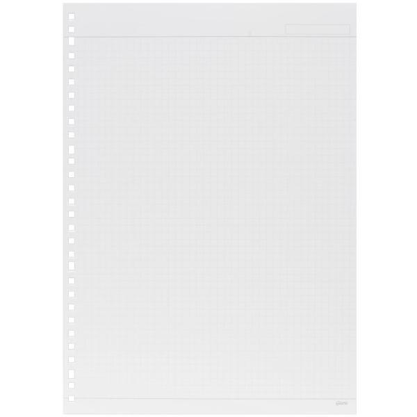 マルマン ルーズリーフ ジウリス A4 30穴 方眼罫 HL107B (DM便1 旧メール便) maruman artandpaperm 02
