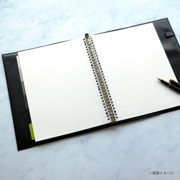 マルマン ルーズリーフ ジウリス A4 30穴 方眼罫 HL107B (DM便1 旧メール便) maruman artandpaperm 04