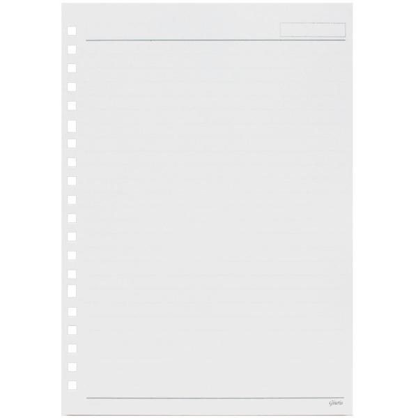 マルマン ルーズリーフ ジウリス A5 20穴 7mm横罫 HL300B (DM便1 旧メール便) maruman|artandpaperm|02