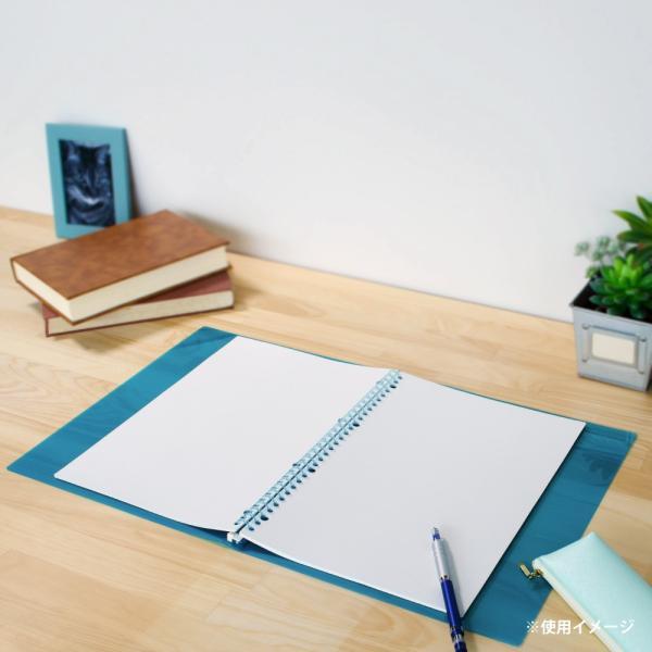 ルーズリーフ 書きやすいルーズリーフ A4 30穴 筆記用紙80g/m2 5mm方眼罫 100枚 L1107H マルマン (DM便 ネコポス1点まで)|artandpaperm|07