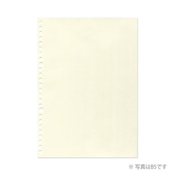 ルーズリーフ クロッキーリーフ B5 26穴 クリームクロッキー紙 中性紙 L1236 マルマン (DM便 ネコポス2点まで) artandpaperm 02