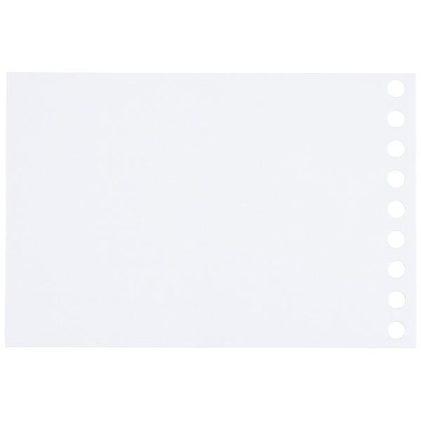 ルーズリーフ 書きやすいルーズリーフ 無地 ミニ B7変形 9穴 筆記用紙80g/m2 100枚 L1433 マルマン (DM便 ネコポス2点まで)|artandpaperm|03