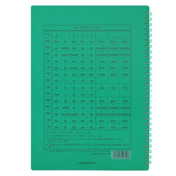 マルマン イングリッシュノートブック B5 英習字罫10段 ブルー 35枚 N523-02[DM便2](旧メール便) artandpaperm 04