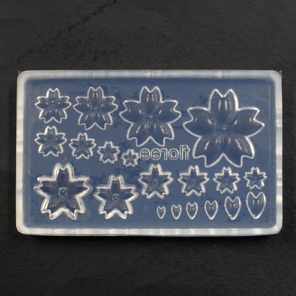 A-0188Z-SA(期間限定)アートクレイシルバースターターセット【桜の型・銀粘土5g・蝶タック金具がプラス】 artclaytsuhan 05