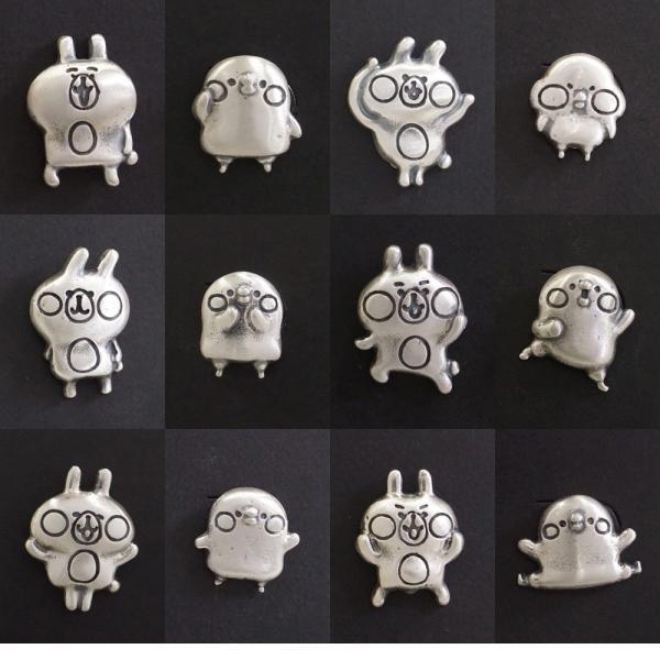 カナヘイの小動物 銀の粘土で作る ハンドメイド ピンバッジキット|artclaytsuhan|04