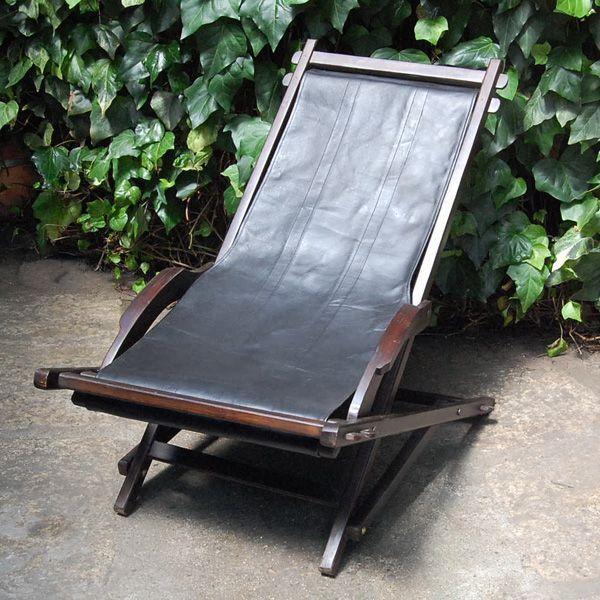 ロッキングチェア・折りたたみ式・チーク・レザー・オリジナル家具・インドネシア工場直輸入|artcrew