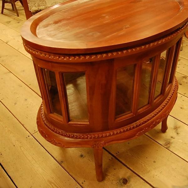 オーバルティーテーブル・・・チーク無垢材・オリジナル家具・インドネシア直輸入|artcrew|03