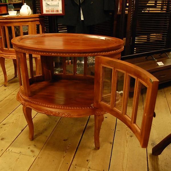 オーバルティーテーブル・・・チーク無垢材・オリジナル家具・インドネシア直輸入|artcrew|04