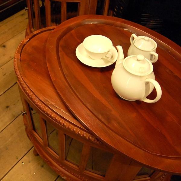 オーバルティーテーブル・・・チーク無垢材・オリジナル家具・インドネシア直輸入|artcrew|06