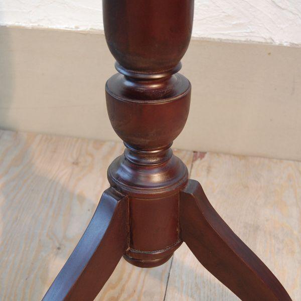シンプルラウンドテーブルL・バーテーブル・チーク・オリジナル家具・インドネシア直輸入|artcrew|03