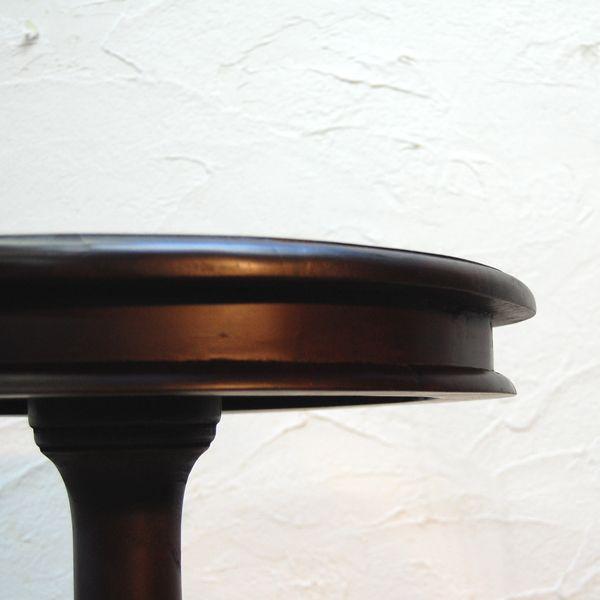 シンプルラウンドテーブルL・バーテーブル・チーク・オリジナル家具・インドネシア直輸入|artcrew|04