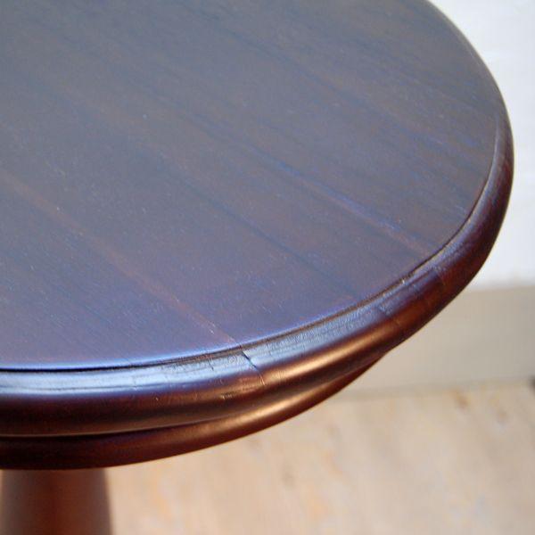 シンプルラウンドテーブルL・バーテーブル・チーク・オリジナル家具・インドネシア直輸入|artcrew|05