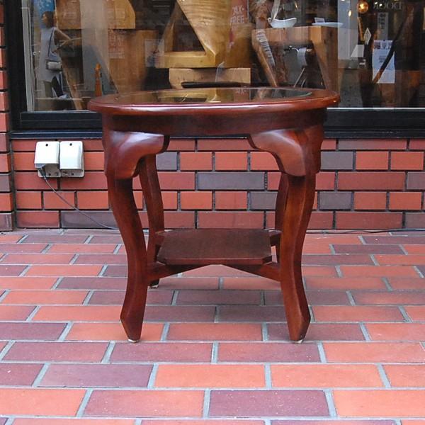 ラウンドテーブル カフェテーブル JAVA GLASS TABLE S・・・オリジナル家具・インドネシア直輸入|artcrew|02