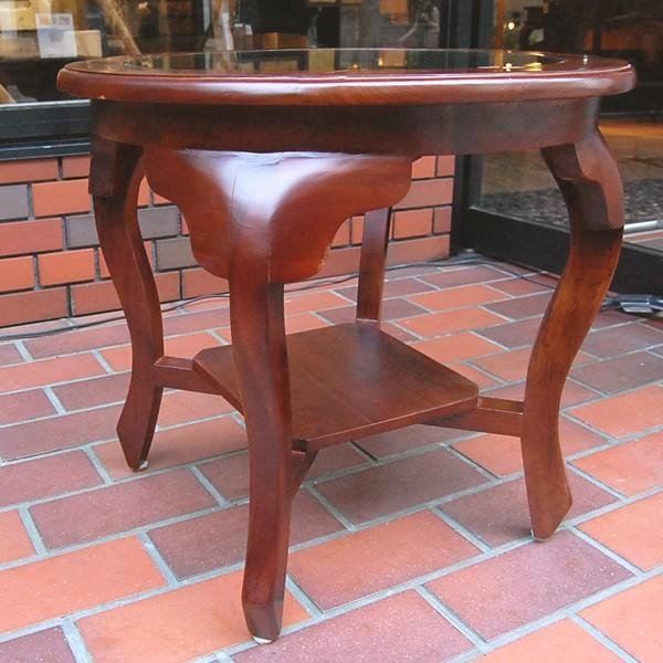 ラウンドテーブル カフェテーブル JAVA GLASS TABLE S・・・オリジナル家具・インドネシア直輸入|artcrew|03