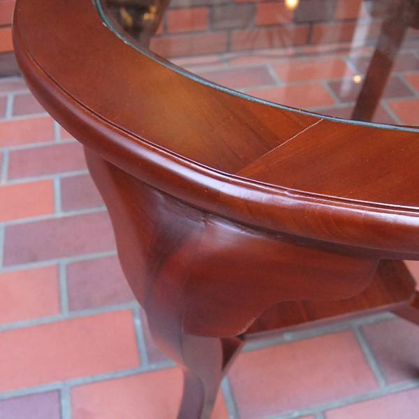 ラウンドテーブル カフェテーブル JAVA GLASS TABLE S・・・オリジナル家具・インドネシア直輸入|artcrew|04