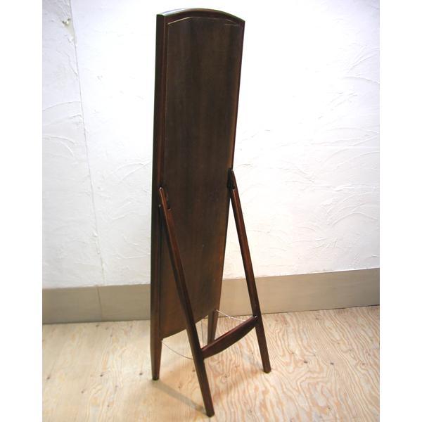 スタンドミラー・Dressing Mirror・姿見・鏡・チーク無垢材・インドネシア直輸入・真鍮金具付|artcrew|02