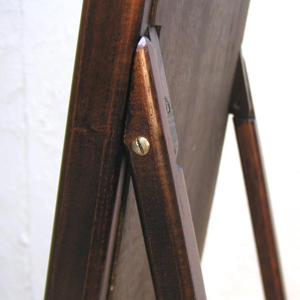 スタンドミラー・Dressing Mirror・姿見・鏡・チーク無垢材・インドネシア直輸入・真鍮金具付|artcrew|06