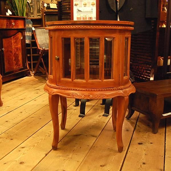 ラウンドティーテーブル・・・チーク・オリジナル家具・インドネシア直輸入|artcrew|02