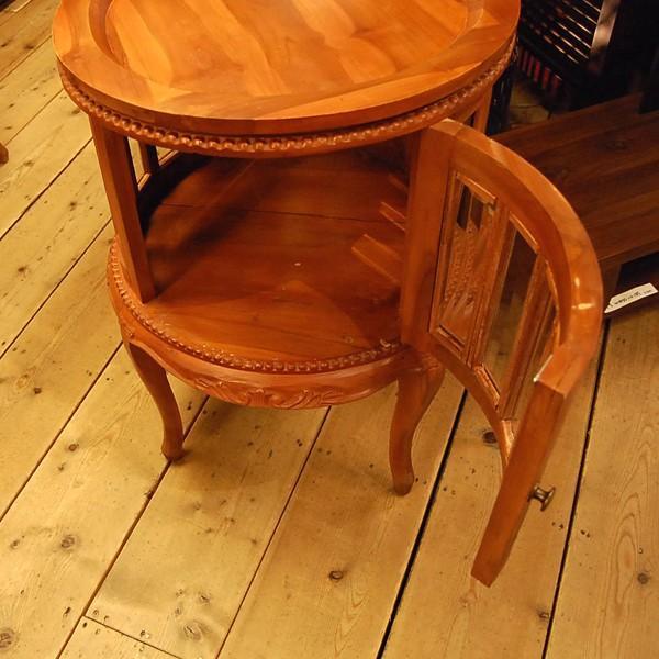 ラウンドティーテーブル・・・チーク・オリジナル家具・インドネシア直輸入|artcrew|03