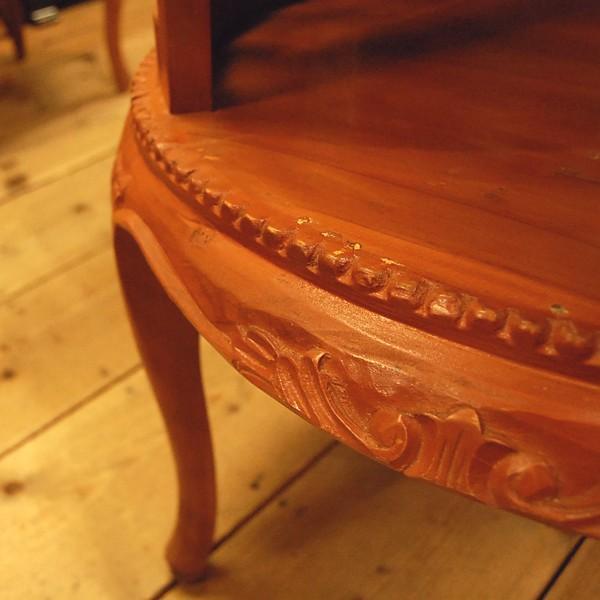 ラウンドティーテーブル・・・チーク・オリジナル家具・インドネシア直輸入|artcrew|05