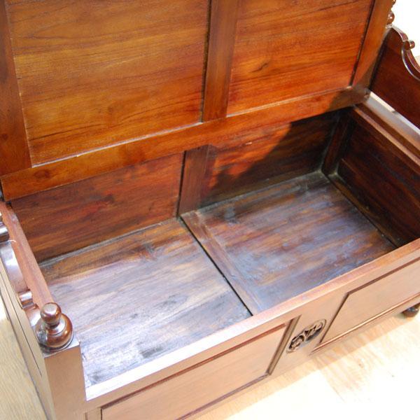 ベンチボックス・ジャバボックスベンチ・・・シューズボックス・宝箱・チーク無垢材・オリジナル家具・インドネシア直輸入|artcrew|05