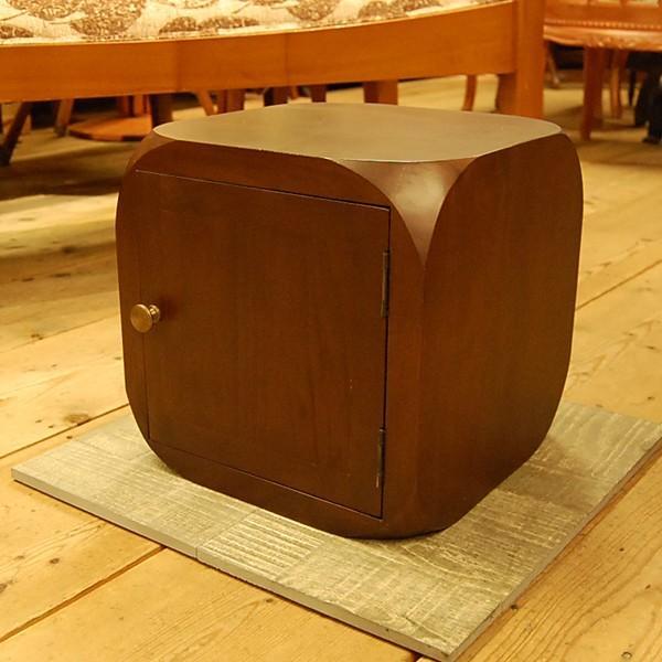 キューブドア・小家具・キャビネット・チーク・オリジナル家具・インドネシア直輸入|artcrew
