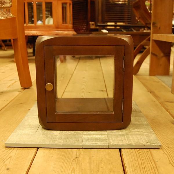 キューブガラスケース・コレクションケース・チーク・ディスプレイケース・オリジナル家具・インドネシア直輸入|artcrew|02
