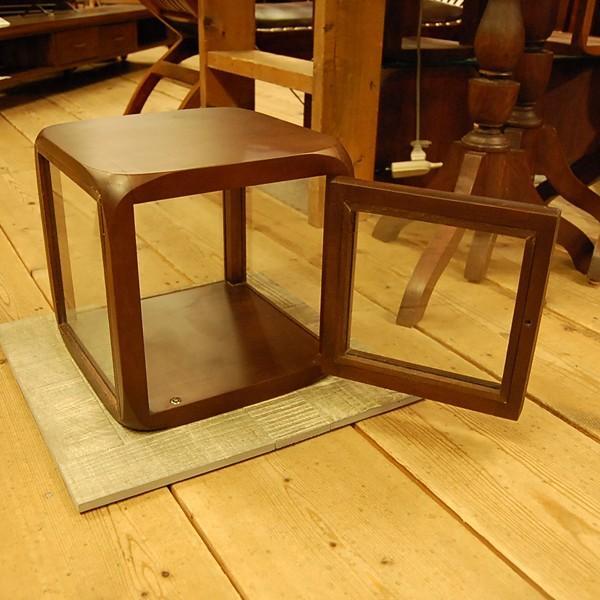 キューブガラスケース・コレクションケース・チーク・ディスプレイケース・オリジナル家具・インドネシア直輸入|artcrew|03