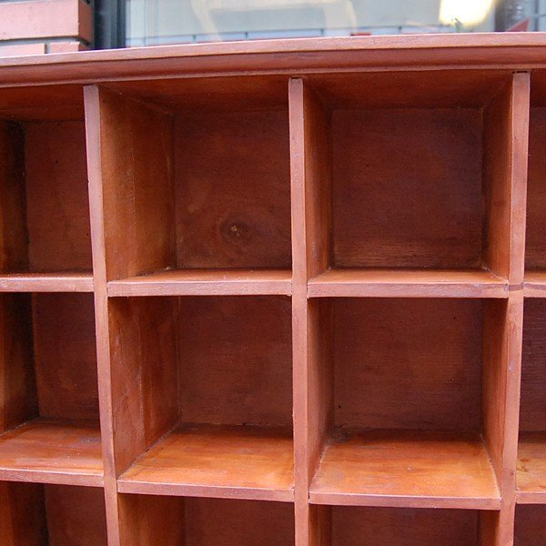 24ボックスラック・CDラック・コレクションラック・飾棚・・・チーク材・オリジナル家具・インドネシア直輸入|artcrew|05