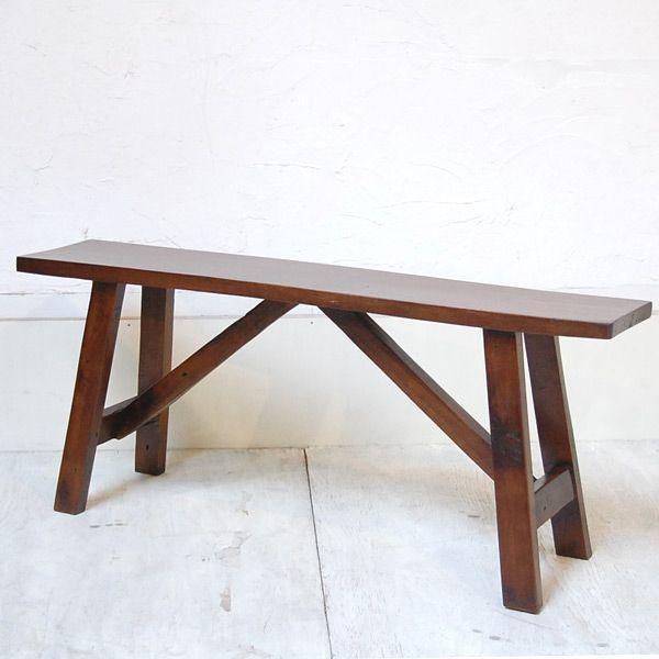オールドチークベンチ・・・チーク無垢材・古材・オリジナル家具・インドネシア直輸入 artcrew