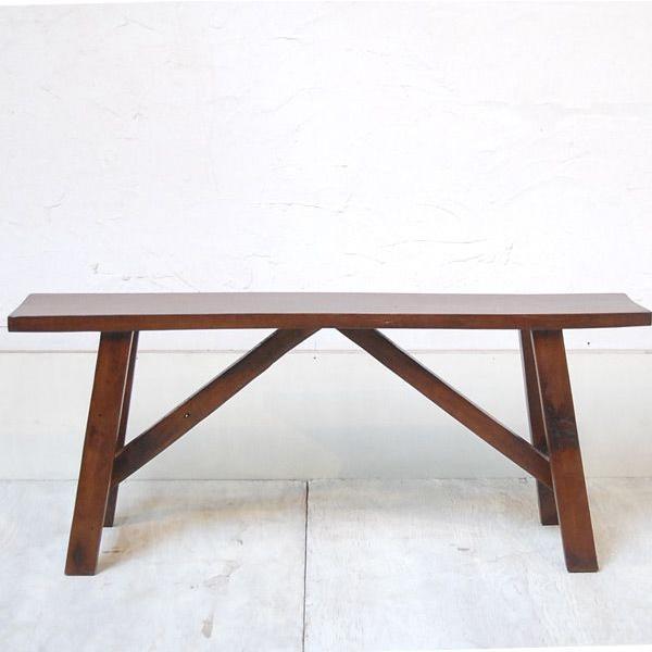 オールドチークベンチ・・・チーク無垢材・古材・オリジナル家具・インドネシア直輸入 artcrew 02