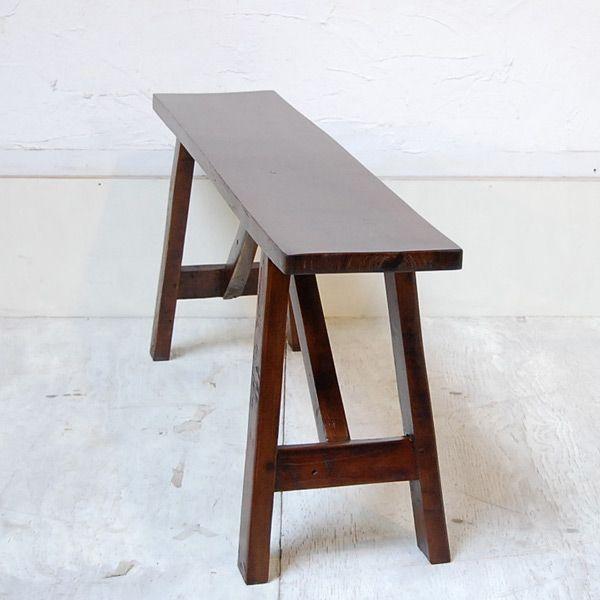 オールドチークベンチ・・・チーク無垢材・古材・オリジナル家具・インドネシア直輸入 artcrew 03