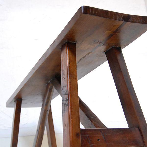 オールドチークベンチ・・・チーク無垢材・古材・オリジナル家具・インドネシア直輸入 artcrew 05