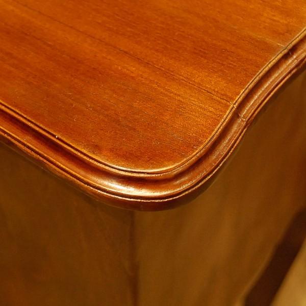 サイドテーブル2引出し・Side Table 2DRWS・ナイトテーブル・チーク無垢材・インドネシア直輸入・真鍮金具付・アンティークスタイル artcrew 05