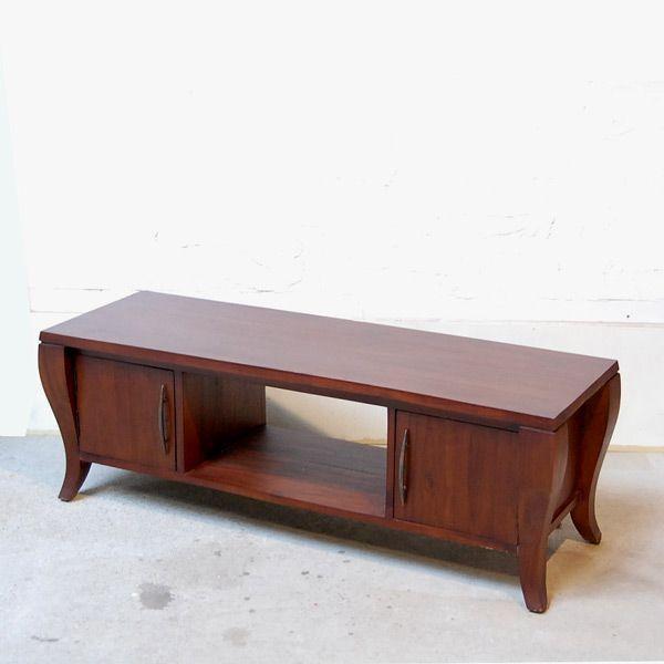 TVラック・1200TV Cabinet・テレビ台・・・チーク無垢材・オリジナル家具・インドネシア直輸入 artcrew