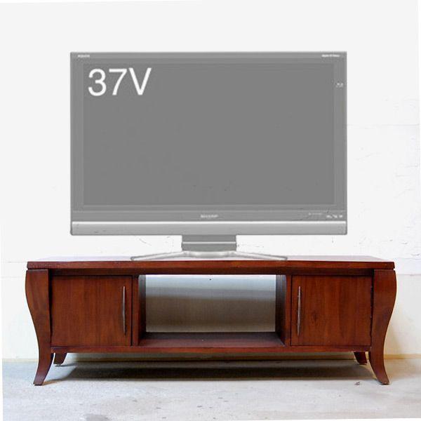 TVラック・1200TV Cabinet・テレビ台・・・チーク無垢材・オリジナル家具・インドネシア直輸入 artcrew 02
