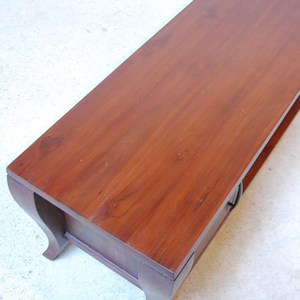 TVラック・1200TV Cabinet・テレビ台・・・チーク無垢材・オリジナル家具・インドネシア直輸入 artcrew 05