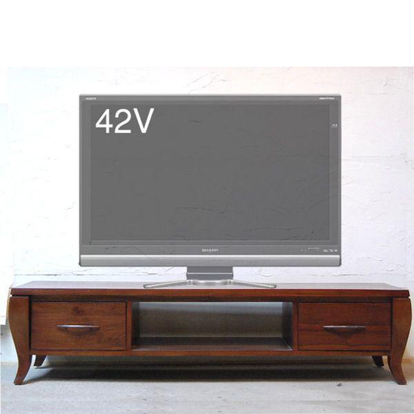 TVラック1500・TV Cabinet・テレビ台・・・チーク無垢材・オリジナル家具・インドネシア直輸入|artcrew|02