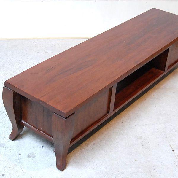 TVラック1500・TV Cabinet・テレビ台・・・チーク無垢材・オリジナル家具・インドネシア直輸入|artcrew|04