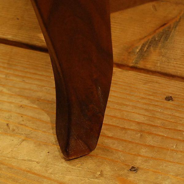 ローテーブル・引出し付・チーク無垢材・インドネシア直輸入・真鍮金具付|artcrew|06