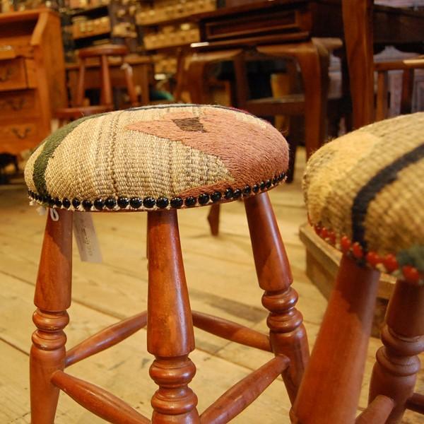 スツール、スザニスツール 玄関用、ドレッサー用に・・・チーク・オリジナル家具・インドネシア直輸入|artcrew|05