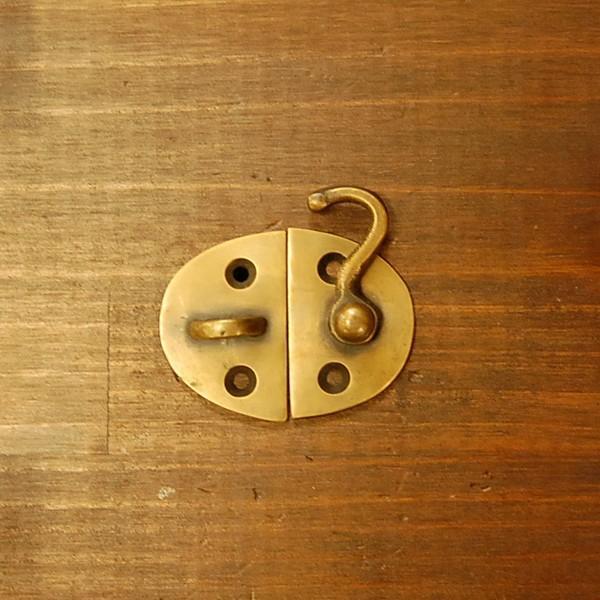 ブラス錠前141 真鍮金具・・・インドネシア直輸入・インテリアパーツ・古色仕上げ|artcrew|02