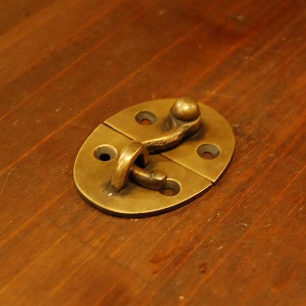 ブラス錠前141 真鍮金具・・・インドネシア直輸入・インテリアパーツ・古色仕上げ|artcrew|03