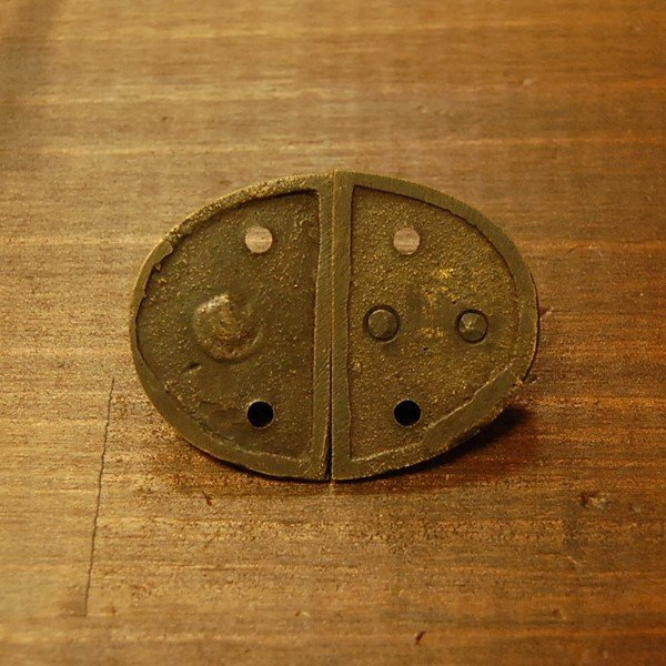 ブラス錠前141 真鍮金具・・・インドネシア直輸入・インテリアパーツ・古色仕上げ|artcrew|04